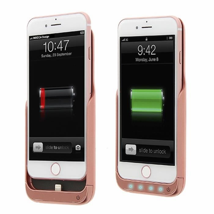coque iphone 7 rechargeable