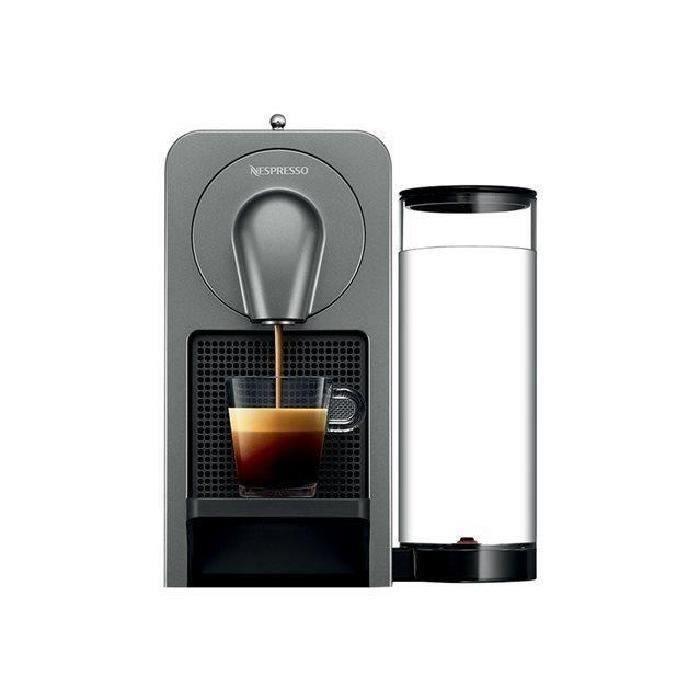 MACHINE À CAFÉ KRUPS NESPRESSO Prodigio YY5100FD - Titane