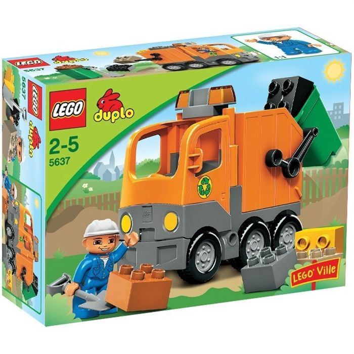 duplo le camion poubelle achat vente assemblage construction cdiscount. Black Bedroom Furniture Sets. Home Design Ideas