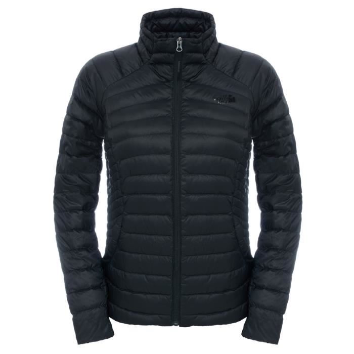 0abe8a5ad4 Doudoune chaude femme The North Face Tonnerro Jacket W Noir Noir ...