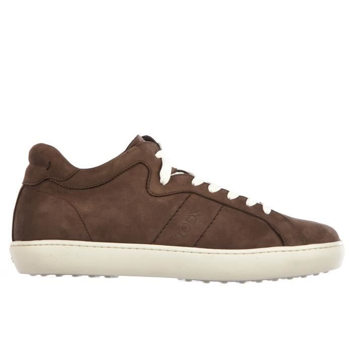 Chaussures baskets sneakers homme en daimpalissandro Tod's 48gAsQ