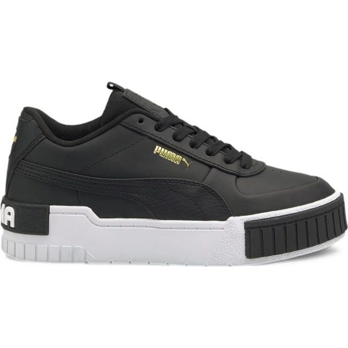 Puma Cali Sport 374184-02 - Chaussure pour Enfant plus âgé Noir ...