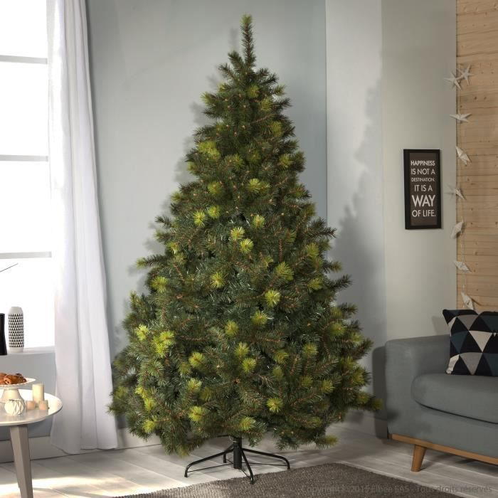 sapin de no l artificiel dense pines bicolores saskia. Black Bedroom Furniture Sets. Home Design Ideas