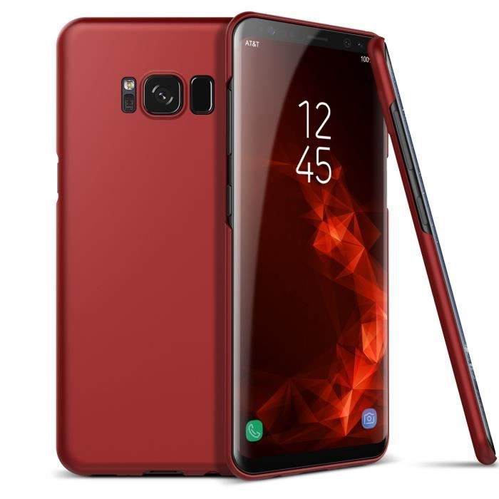 coque original samsung s8 rouge