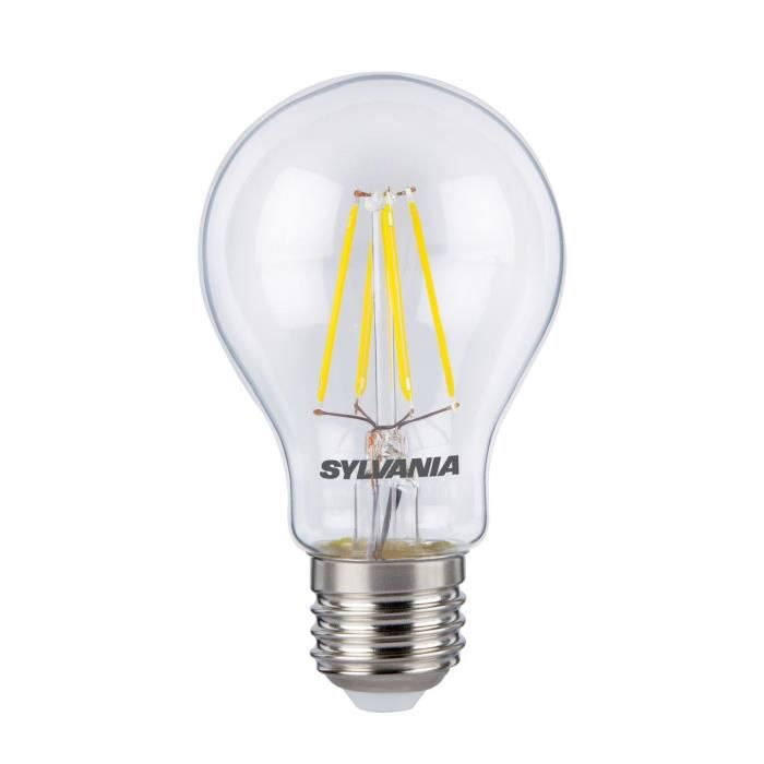 sylvania ampoule led retro filament a60 e27 50w achat. Black Bedroom Furniture Sets. Home Design Ideas