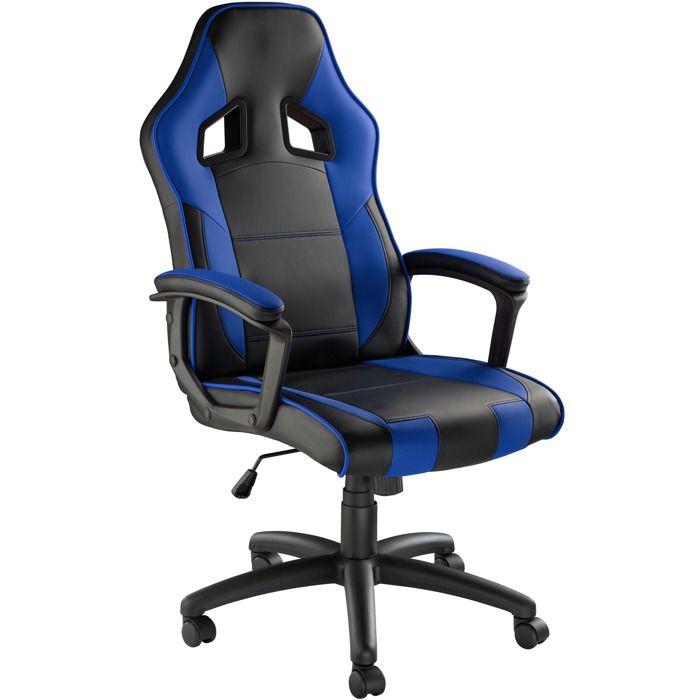 CHAISE DE BUREAU TECTAKE Chaise de Bureau Design Gamer confortable