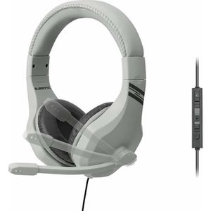 CASQUE AVEC MICROPHONE Casque-micro Subsonic gris pour PS4 , Xbox One , S