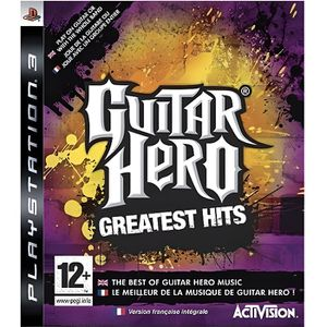 JEU PS3 GUITAR HERO GREATEST HITS / JEU CONSOLE PS3