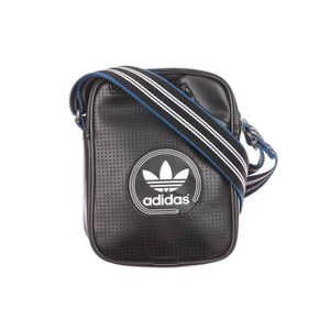 SACOCHE ADIDAS MINI BAG PERF BLACK/WHITE