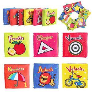 AUTRES LIVRES Peluche AASF6 Livres doux pour bébés, Jouets 6 à 1