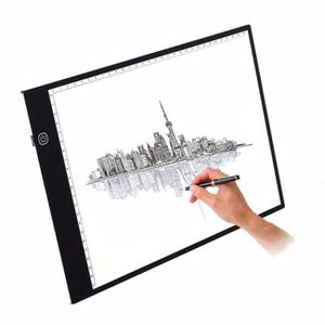 TABLE A DESSIN Tablette Lumineuse A4 LED Pad A4 pour Dessiner Tab