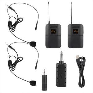 HAUT-PARLEUR - MICRO 1buycart-Microphone portatif sans fil à un ou deux