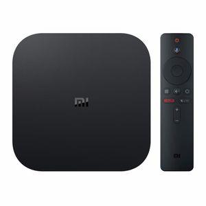 BOX MULTIMEDIA Téléviseur Android 4K HDR Xiaomi Mi Box S avec lec