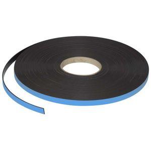 RUBAN ADHÉSIF Ruban magnétique 55 gr/cm2 - adhésif épais - 19mm