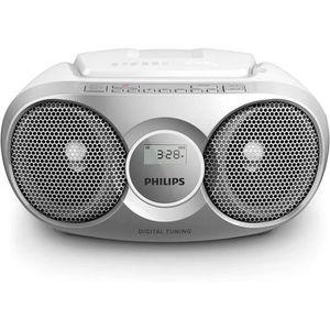 RADIO CD CASSETTE AZ215S Lecteur CD,CD-R,RW Portable, Facile à Utili