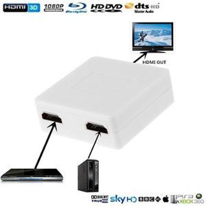 REPARTITEUR TV Mini HDMI ports Numérique HD Vidéo Convertisseur F