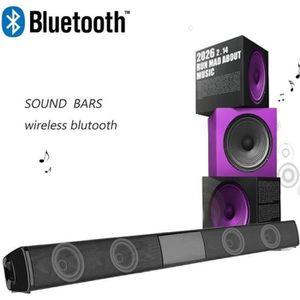BARRE DE SON Barre de son Haut-parleur Bluetooth 4.2 subwoofer