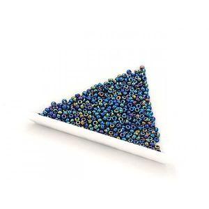 Gris Anthracite environ 9,9 g Miyuki rocaille 8//0 Rond 3 mm Noir