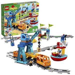 POUPON Poupon LEGO P0F5O 10875 Duplo Train de marchandise