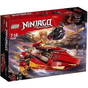 ASSEMBLAGE CONSTRUCTION LEGO® NINJAGO® 70638 Le bateau Katana V11 - Jeu de