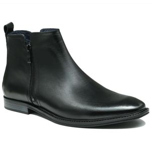 en Bottines Cuir Bottines en Fermo Cuir wPtqwg