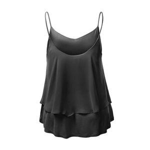 T-SHIRT Banconre® T-shirt femme sexy manches Halterneck dé