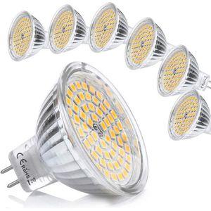 AMPOULE - LED MR16 LED 12V GU5.3 Blanc Chaud 5W Ampoule Equivale