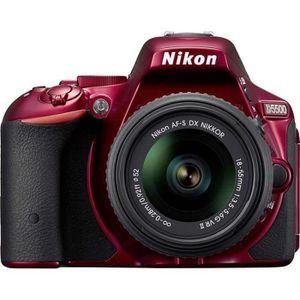APPAREIL PHOTO RÉFLEX NIKON D5500 Appareil photo numérique Reflex + Obje