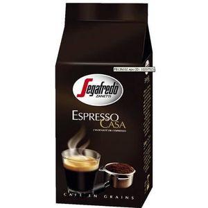 CAFÉ - CHICORÉE Segafredo, Café en grains Espresso Casa, 1 KG