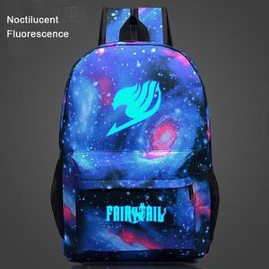 CARTABLE Fairy Tail-Sac à dos Noctilucent Fluorescence-cart
