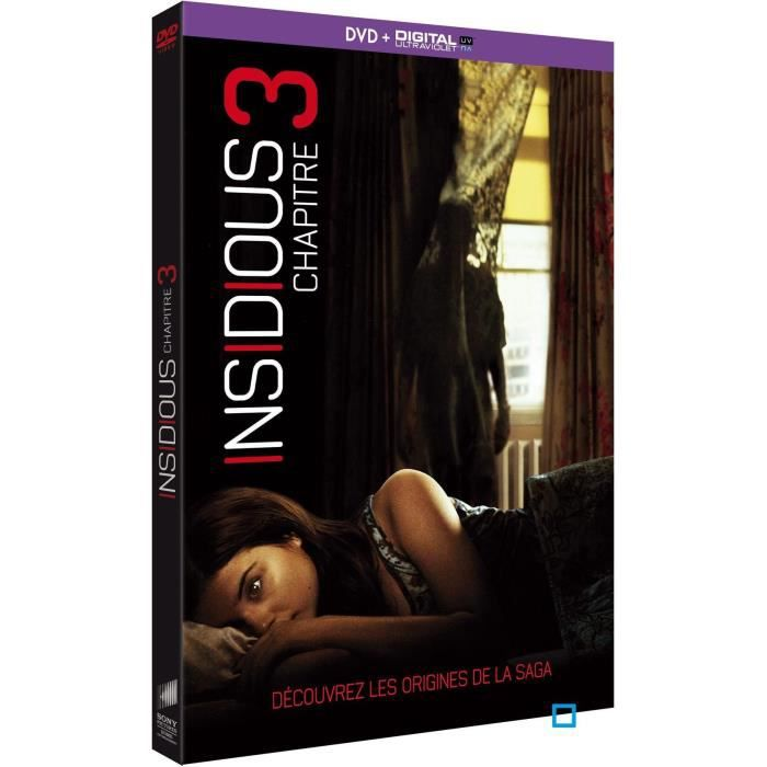 insidious chapitre 3 dvd uv insidious chapter 3 en dvd film pas cher angus sampson. Black Bedroom Furniture Sets. Home Design Ideas