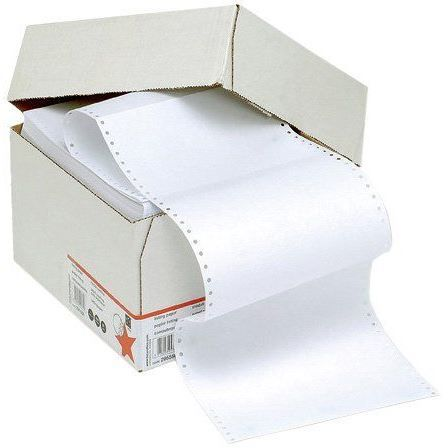 5 Star Papier listing micro-perforé Uni 70 g/m …