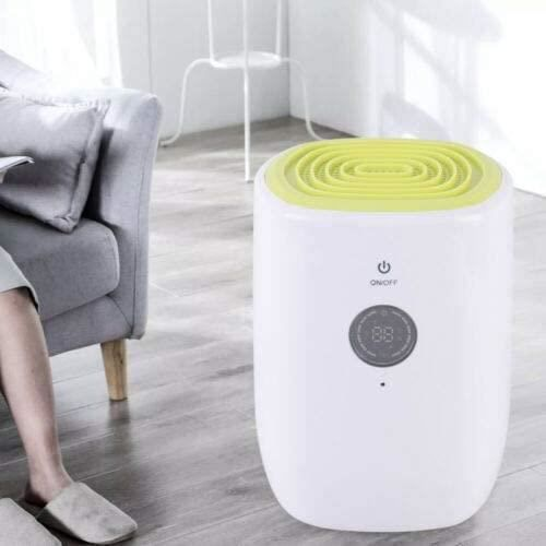 25W ménage petit déshumidificateur silencieux électrique 0.8L déshumidificateur LED déshumidificateur d'air portable