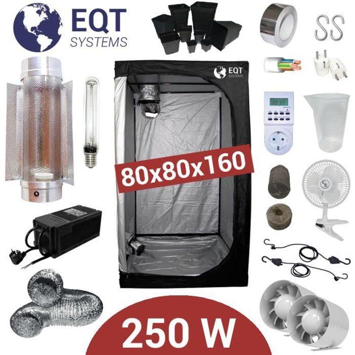 Pack Box 250W Cooltube 80x80 - Black Box 2 + Supacrop