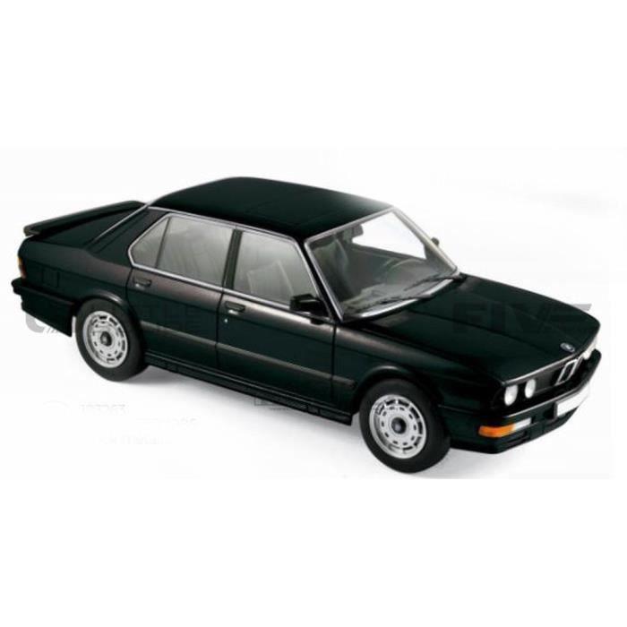 Voiture Miniature de Collection - NOREV 1/18 - BMW M535i (E28) - 1986 - Black - 183263