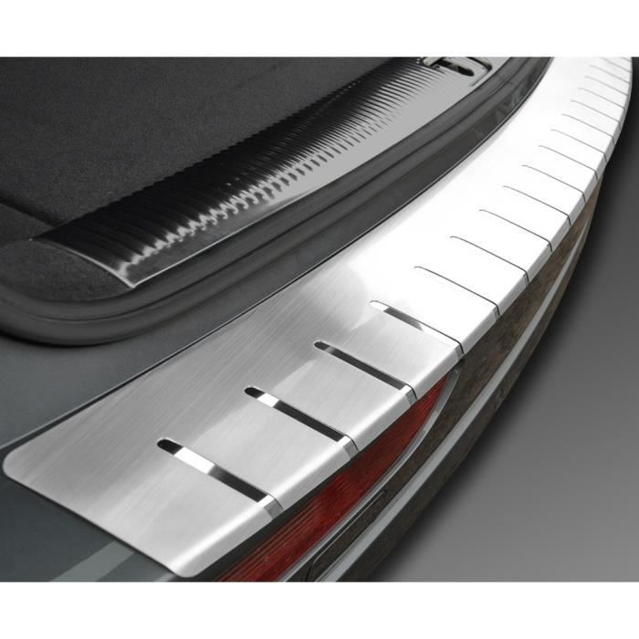 Citroen c5 III 4-portes depuis 2008 Seuil 3D de chargement de coffre inox - sur mesure