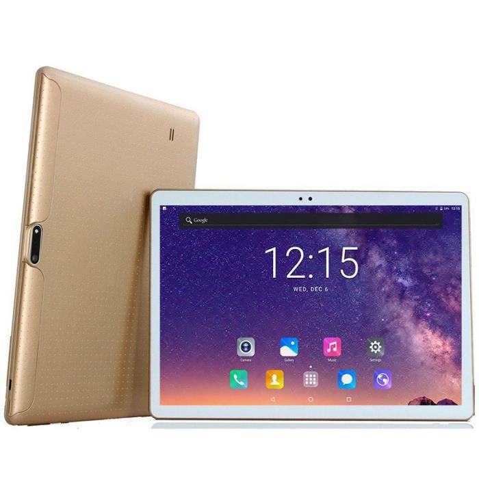 DHL Free 10 Pouces Tablet PC Core 4 Go RAM 64 Go ROM Double SIM 5.0MP GPS 1280 * 800 IPS Tablet PC 10 -(or)