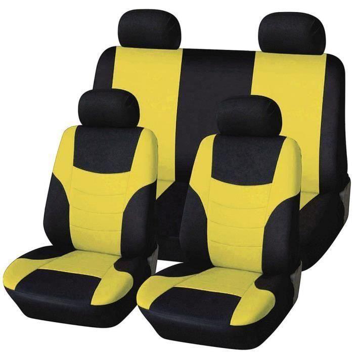 Housse de siège de voiture Protecteur de siège Styling Couvre selle Set Couvre sièges Car-styling
