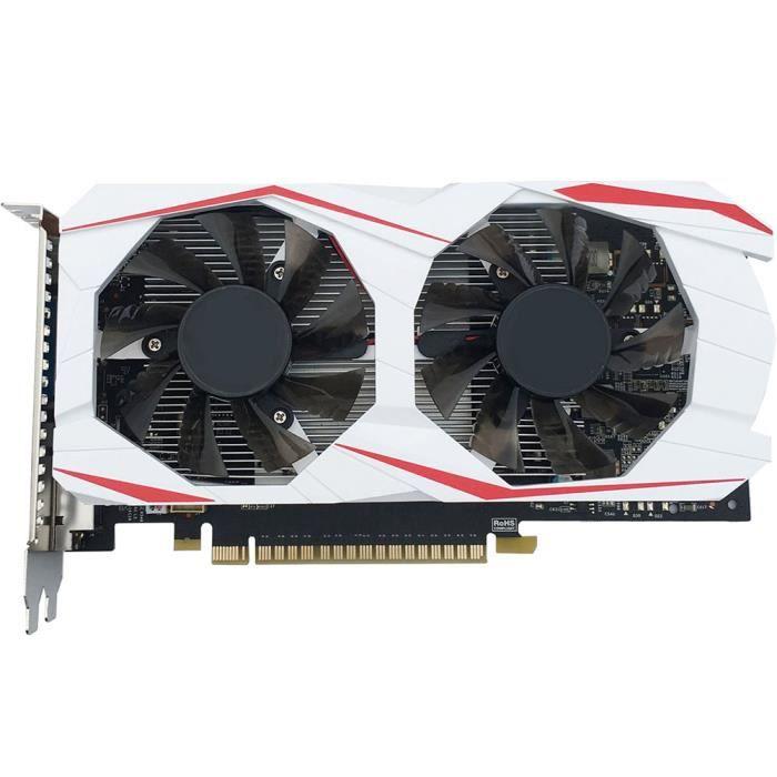 Cartes graphiques de jeux GTX750Ti 2 Go DDR5 indépendantes GM107 PCI Express 2.0 pour ordinateurs de bureau GTX750Ti