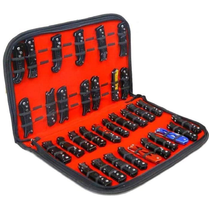 Étui de rangement pour couteaux de poche, petit couteau de rangement, sac de rangement pour outils, fourreau pliable pour mini out