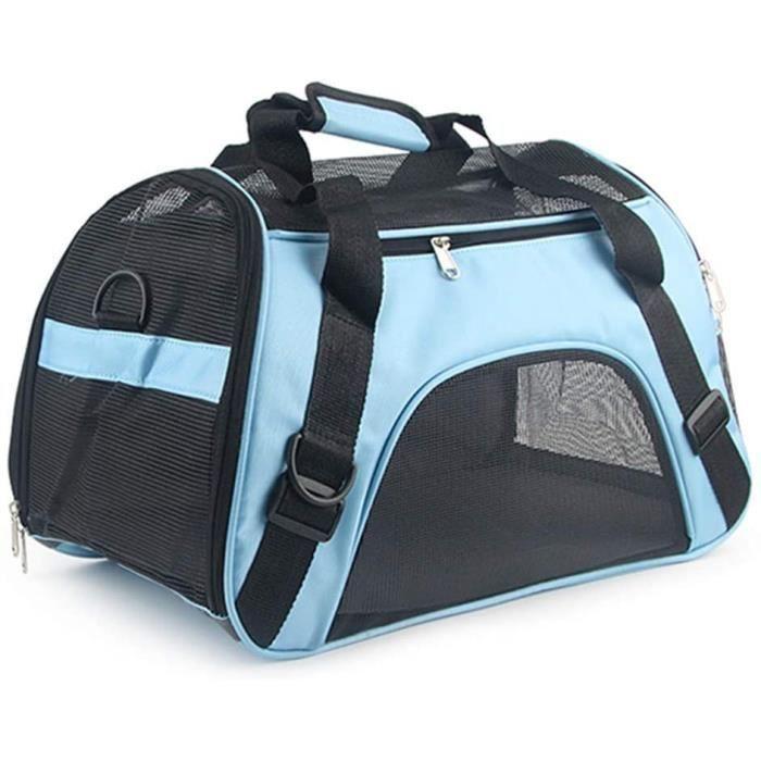 confortable pour les animaux domestiques Sac de transport ventral pour chien chats et chiots sac banane souple et l/éger pour chiens Ducomi convient pour promenades et voyages