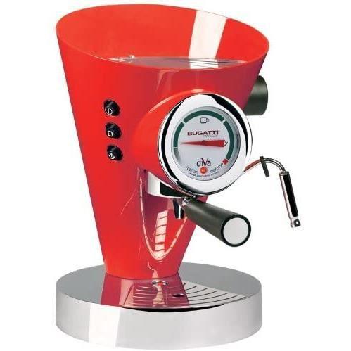 COMBINE CAFETIERE-EXPRESSO Bugatti DIVA - Espresso Machine Hot Red74