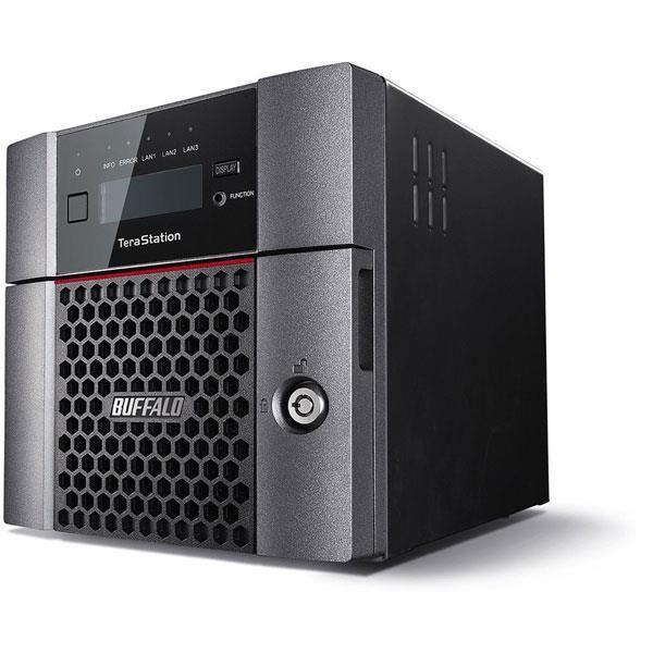 BUFFALO Système de stockage SAN/NAS TeraStation 5210DN - 2 x Total de compartiments - Annapurna Labs Alpine Quad-core