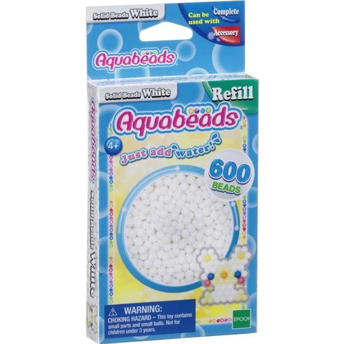 AQUABEADS Perles Classiques Blanches