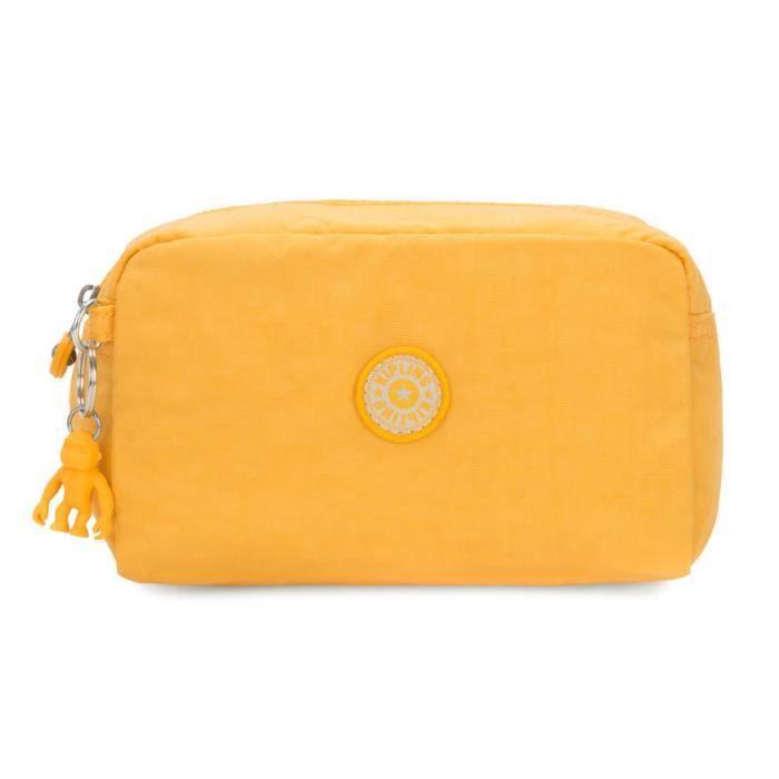 kipling Basic Gleam Pouch M Vivid Yellow [88329]