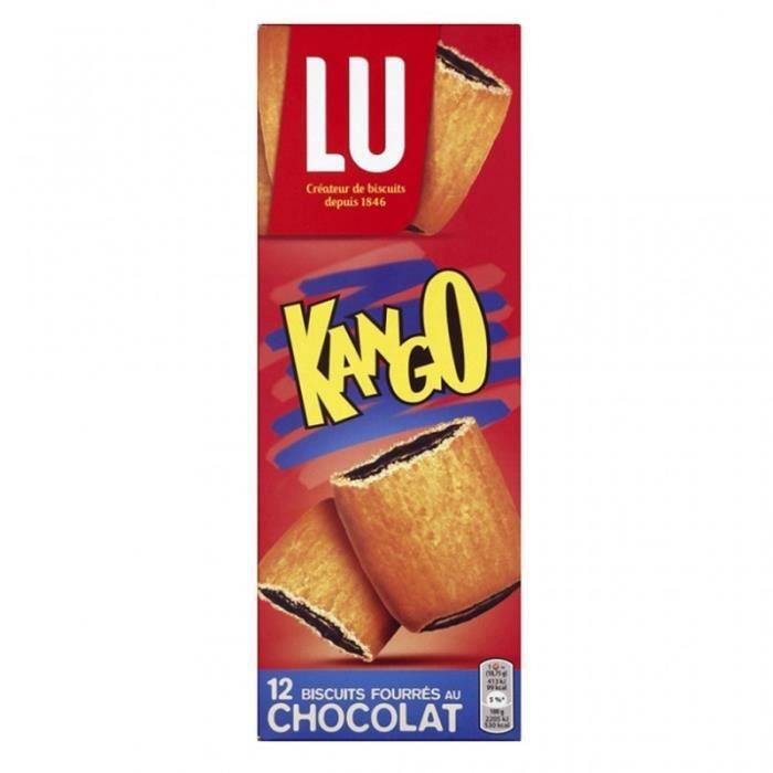 LU Kango 12 Biscuits Fourrés au Chocolat 225g (lot de 6)