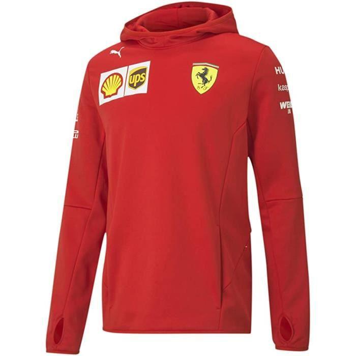 Sweat a capuche Ferrari Scuderia Team Officiel logo F1 Officiel Formule 1