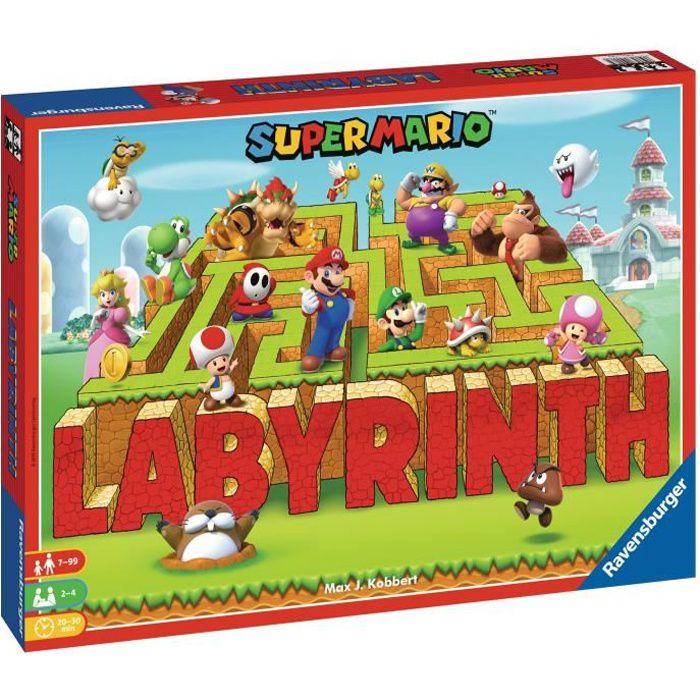 LABYRINTHE Super Mario™ - Jeu de société - 2 à 4 joueurs - 7 ans et +