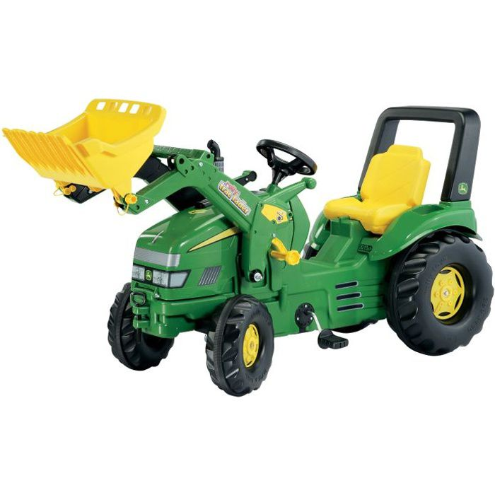 Tracteur à pédales X-Trac JOHN DEERE avec chargeu…