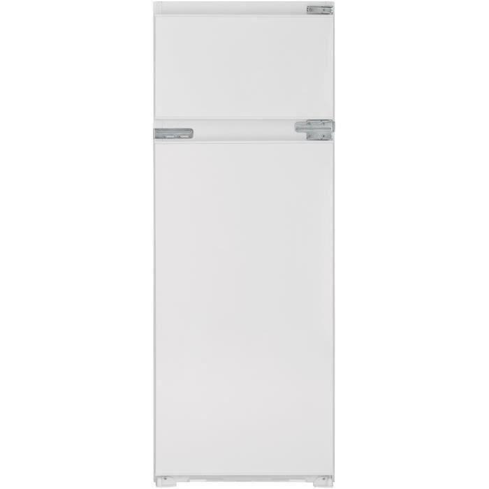 TELEFUNKEN IT2P214F - Réfrigérateur congélateur haut encastrable - 214L (176+38) - Froid Statique - L 54cm x H 144.5cm